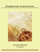 Introduction to Accounting by Anthony Webster