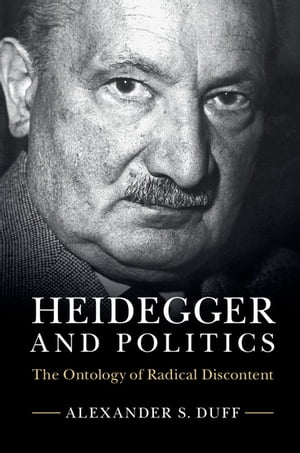 Heidegger and Politics The Ontology of Radical Discontent