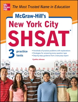 Book McGraw-Hill's New York City SHSAT by Cynthia Johnson