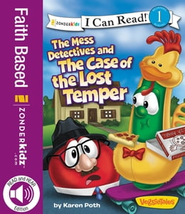 Book The Mess Detectives and the Case of the Lost Temper by Karen Poth