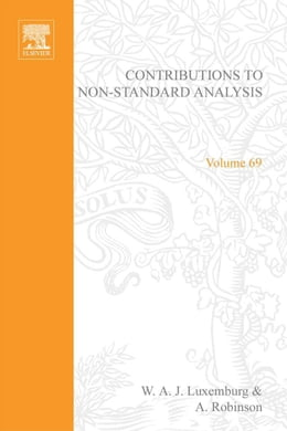 Book Contributions to Non-Standard Analysis by Beklemishev, Lev D.