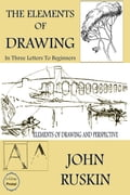 9786155564895 - John Ruskin, Murat Ukray: The Elements of Drawing - Könyv
