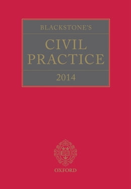 Book Blackstone's Civil Practice 2014 by Derek French