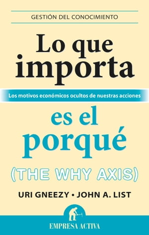 Lo que importa es el porqué: The why axis