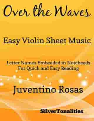 Over the Waves Easy Violin Sheet Music