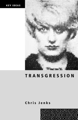 Book Transgression by Jenks, Chris