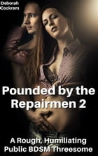 Pounded by the Repairmen 2: A Rough, Humiliating Public BDSM Threesome by Deborah Cockram
