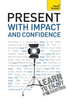 Present with Impact and Confidence: Teach Yourself by Amanda Vickers