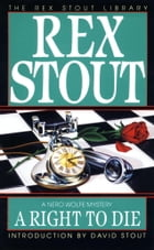 A Right to Die by Rex Stout