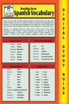 Spanish Vocabulary (Blokehead Easy Study Guide) by The Blokehead