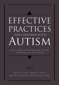 Effective Practices for Children with Autism: Educational and Behavior Support Interventions that…
