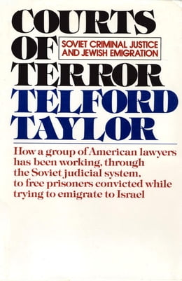 Book Courts of Terror by Telford Taylor