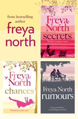 Book Freya North 3-Book Collection: Secrets, Chances, Rumours by Freya North