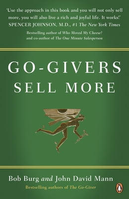 Book Go-Givers Sell More by Bob Burg