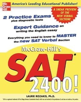Book McGraw-Hill's SAT 2400! by Rozakis, Laurie