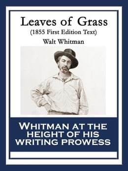 Book Leaves of Grass: 1855 First Edition Text by Walt Whitman