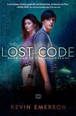 Book The Lost Code: Book One of the Atlanteans by Kevin Emerson