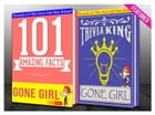 Gone Girl - 101 Amazing Facts & Trivia King!: Fun Facts and Trivia Tidbits Quiz Game Books by G Whiz