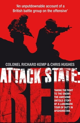 Book Attack State Red by Col. Richard Kemp
