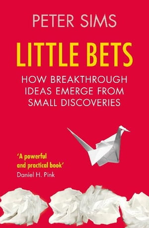 Little Bets How breakthrough ideas emerge from small discoveries