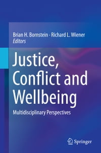 Justice, Conflict and Wellbeing: Multidisciplinary Perspectives