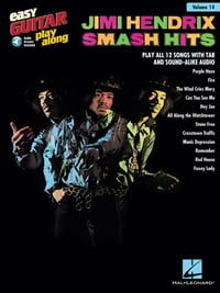 Jimi Hendrix - Smash Hits Songbook: Easy Guitar Play-Along Volume 14