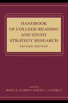Book Handbook of College Reading and Study Strategy Research by Flippo, Rona F.