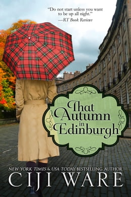 Book That Autumn in Edinburgh by Ciji Ware