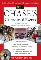 Chases Calendar of Events 2014 with CD-ROM by Editors of Chases Calendar of Events