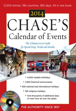Book Chases Calendar of Events 2014 with CD-ROM by Editors of Chases Calendar of Events