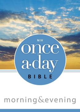 Book NIV, Once-A-Day: Morning and Evening Bible, eBook by Kenneth D. Boa