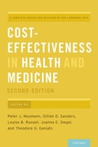Cost-Effectiveness in Health and Medicine