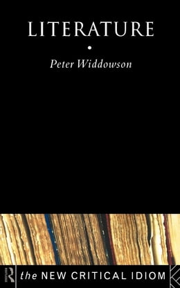 Book Literature by Widdowson, Peter