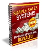 Simple Sales Systems by Anonymous