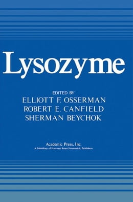 Book Lysozyme by Osserman, Elliott
