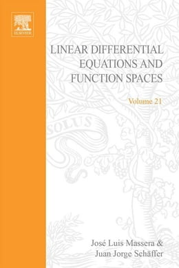 Book Linear differential equations and function spaces by Unknown, Author