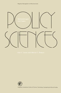Policy Sciences: Methodologies and Cases