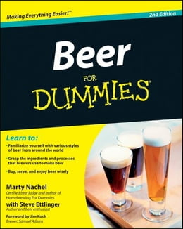 Book Beer For Dummies by Marty Nachel