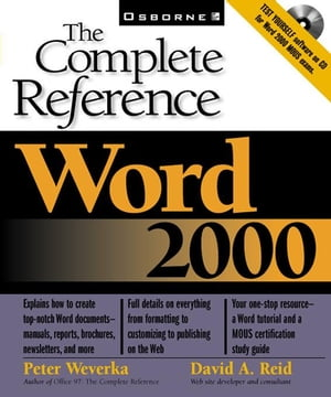 Word 2000: The Complete Reference