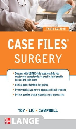 Book Case Files Surgery, Third Edition by Eugene Toy
