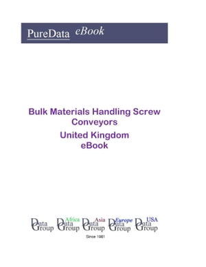 Bulk Materials Handling Screw Conveyors in the United Kingdom
