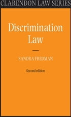Discrimination Law by Sandra Fredman FBA