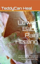 Lower Back Pain Healing: 21 Best Healing Alternatives Adopted Worldwide to Fight Chronic Lower Back Pain by Teddycanheal