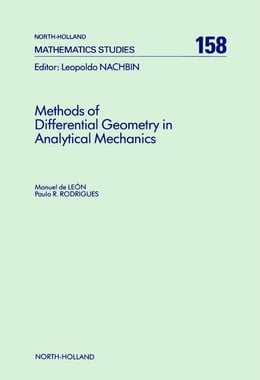 Book Methods of Differential Geometry in Analytical Mechanics by de León, M.