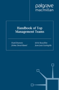 Handbook of Top Management Teams