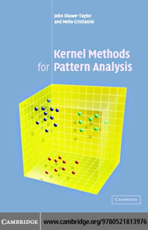 Kernel Methods for Pattern Analysis