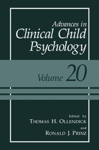 Advances in Clinical Child Psychology: Volume 20