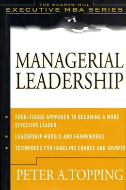 Book Managerial Leadership by Topping, Peter