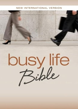 Book NIV, Busy Life Bible, eBook: 60-Second Thought Starters on Topics That Matter to You by Christopher D. Hudson