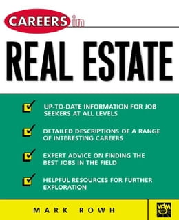 Book Careers in Real Estate by Rowh, Mark